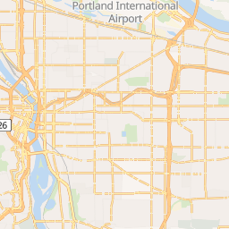 Downtown Portland Hotels Map on