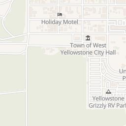 West Yellowstone Montana Map.Yellowstone Area Map West Yellowstone Hotels Clubhouse Inn